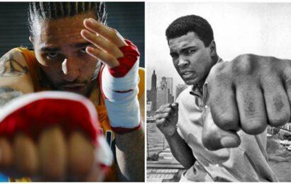 Chasing a dream: Muhammad Ali's grandson Nico Ali Walsh makes his pro-boxing debut