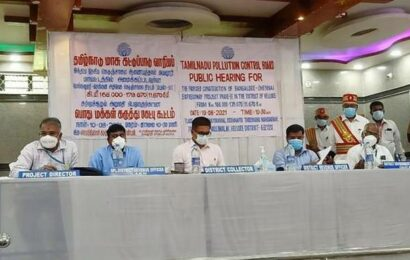 Chennai-Bengaluru expressway: public hearing held in Vellore
