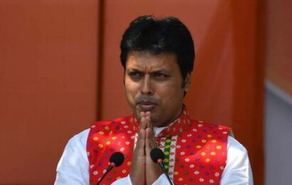Crime rate drastically reduced in Tripura, state developing in education, industry, connectivity: CM Biplab Deb
