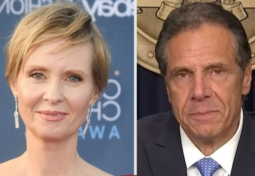 Cynthia Nixon Reacts to Andrew Cuomo Being Stripped of His Emmy