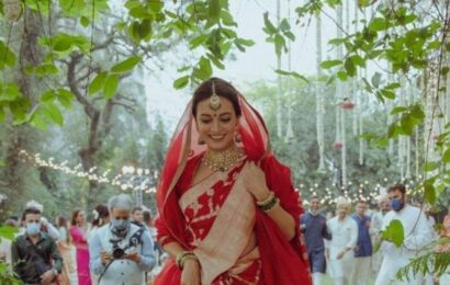 Dia Mirza is a glowing bride in this unseen wedding throwback, check out her post