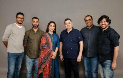 Exclusive Juhi Chawla reveals Sharmaji Namkeen to release on Rishi Kapoor's birth anniversary