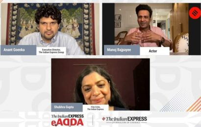 Express Adda with Manoj Bajpayee: 'In the time of the pandemic, it's become a level playing field'