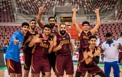 FIBA Asia Cup 2022: Indian basketball team qualify for the 10th time