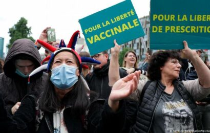 France, Italy see mass protests against COVID health pass