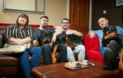 Gogglebox's Malone family's heartache as beloved dog Izzie dies