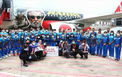 Hero's welcome for Indian hockey teams in Odisha