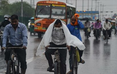 IMD predicts moderate rainfall in Delhi-NCR today