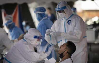 India records 41,195 new Covid-19 cases, 490 deaths