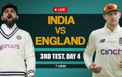 India vs England 3rd Test, Day 4 Live Score Updates: Pujara falls, IND three down