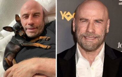 John Travolta delights fans with candid photo from family home a year after wife's death