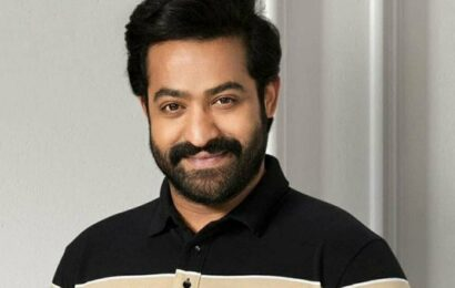 Jr NTR back to Hyderabad from Ukraine