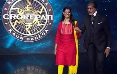KBC 13 gets its first crorepati in visually impaired contestant Himani Bundela, watch video