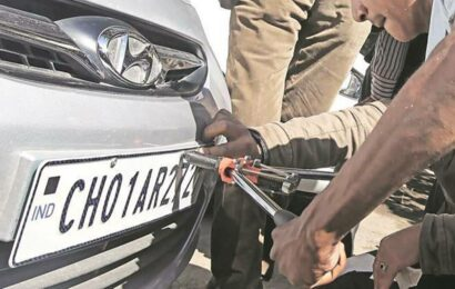 Karnataka govt initiates process to ensure all vehicles in state have high-security number plates