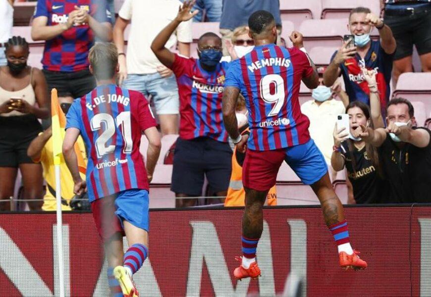 La Liga: Memphis Depay leads Barcelona to narrow victory over Getafe