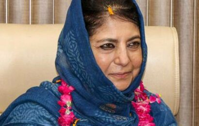 Mehbooba refers to Afghanistan situation to ask govt to restore J&K special status, draws flak