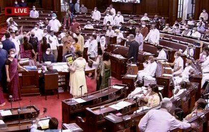 Parliament Live Updates: Lok Sabha adjourned sine die; Rajya Sabha till 12 noon