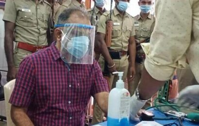 Perarivalan undergoes medical check-up
