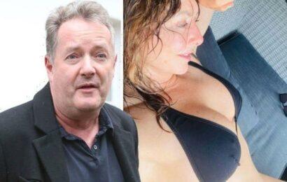 Piers Morgan speaks out on Carol Vorderman's Instagram pics after she flaunts bikini body