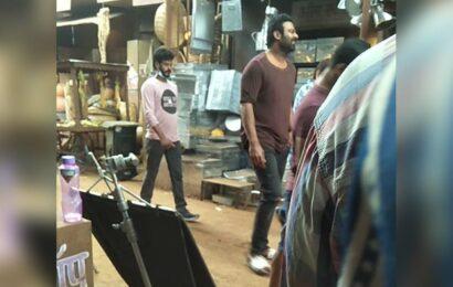 PrabhasSalaar look in leaked video