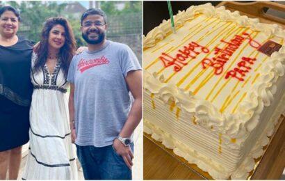 Priyanka Chopra remembers father Ashok Chopra on his birth anniversary, shares photo of a birthday cake