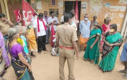 Protest against 'irregularities' in ration shop