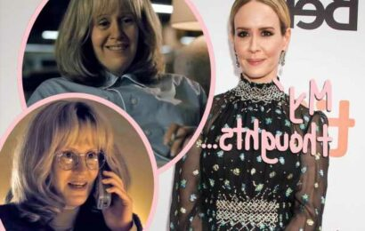 Sarah Paulson Acknowledges 'Controversy' After Wearing Fat Suit For Impeachment: American Crime Story
