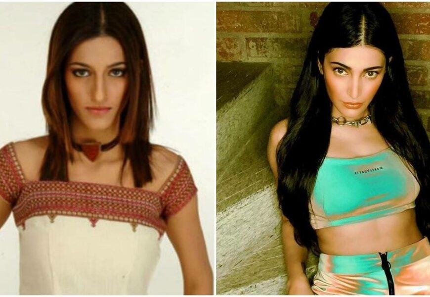 Shruti Haasan is unrecognisable in photos from her modelling days, fans ask 'Is that you?'
