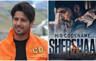 Sidharth Malhotra's nerve-wracking experience during Shershaah: 'For Vikram Batra's family, this isn't just a film'