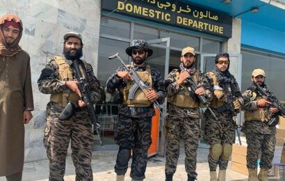 Taliban declare victory from Kabul airport, promise security