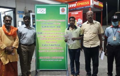 Tamil Nadu: Petrol pump offers free fuel to people named Neeraj and Sindhu to celebrate Olympic medallists