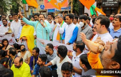 Thackeray trying to keep alliance partners happy by not permitting religious places to reopen: BJP