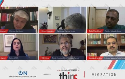 Thinc session examines need for jobs with dignity for migrants in urban areas, policy changes needed