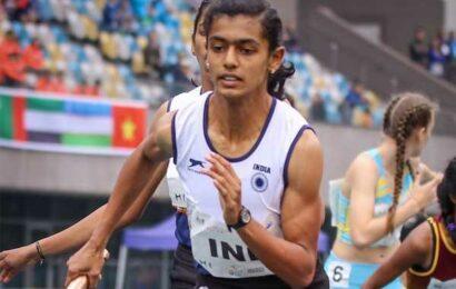 U-20 World Athletics: Priya finishes 4th in women's 400m