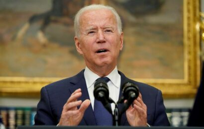 US 'unwavering' in Afghanistan evacuations, says Joe Biden