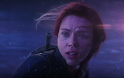When Scarlett Johansson cried in the shower after learning of Black Widow's death in Avengers Endgame