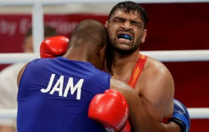 Wife said pull out but I wanted to fight: Satish Kumar on fighting Olympic QF with 13 stitches