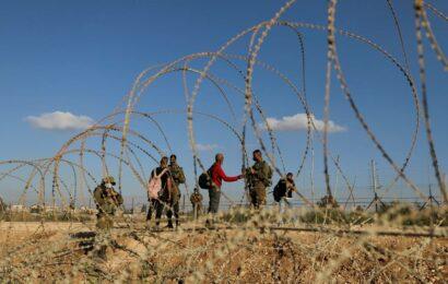 A hole, a tunnel, a 32-yard crawl: Palestinians still free after rare escape