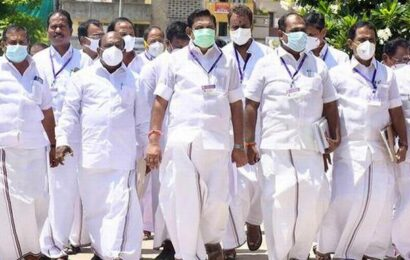AIADMK stages walkout ahead of CAA vote
