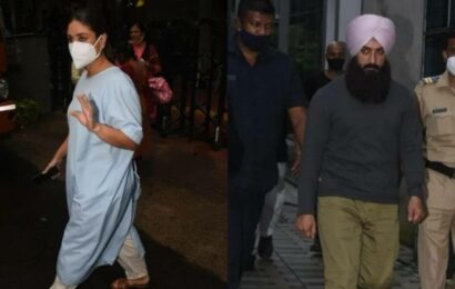 Aamir Khan dresses as a Sikh, Kareena Kapoor dons hospital gown in new Laal Singh Chaddha video from sets, watch