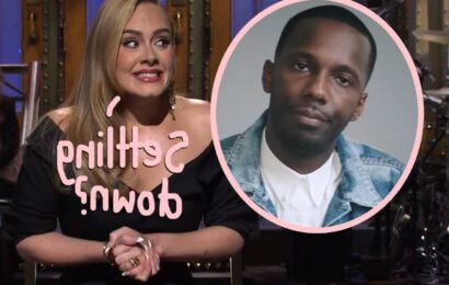 Adele & Boyfriend Rich Paul 'Getting More Serious'??