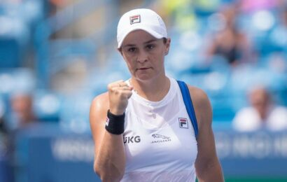 Ash Barty's WTA Finals title defence in doubt, says coach