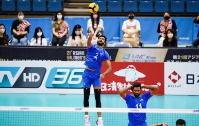 Asian men's volleyball championship: India's winless streak continues with loss to Japan.