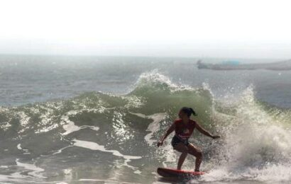 At Mamallapuram's first edition of Mahabs Open local surfers conquer the waves