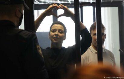 Belarus convicts activist Maria Kolesnikova on 'extremism' charges