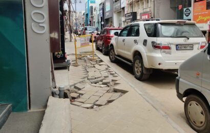 Bengaluru: Barely two months after reopening, Commercial Street to undergo repairs again