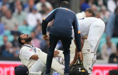 Eng vs Ind   Rohit, Pujara nurse injuries as India field substitutes