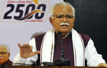 Ensure all government schemes, services linked to PPP by Nov 1: Haryana CM to officers