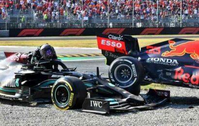 FIA to investigate latest Lewis Hamilton-Max Verstappen collision in Italian GP