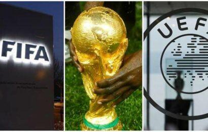 FIFA unveils biennial World Cup plan but UEFA threatens boycott